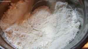 poudres tamisées finement pour des coques lisses