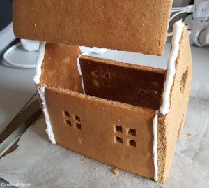 assemblage du toit