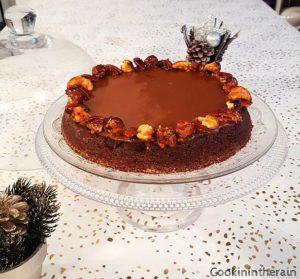 service du brownie de Christophe Felder