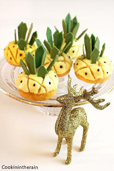 Les choux ananas de Hugo et Victor