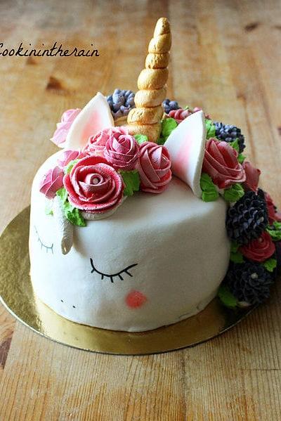 Licorne cake - Cookinintherain