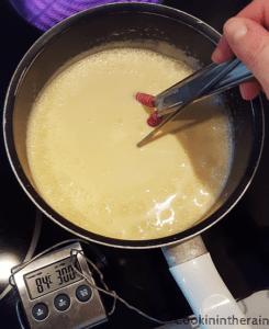 cuisson à la nappe