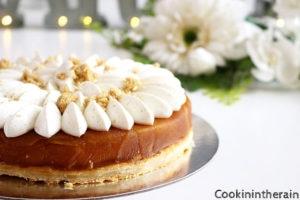 autre vue de la tarte tartin de Philippe Conticini