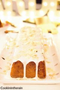 cake aux agrumes de face