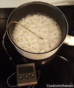 sirop de sucre cuit