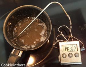 sirop de sucre à 114°C