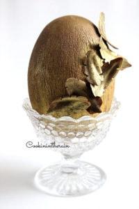 oeuf chocolat pécan et fleur de sel par cookinintherain