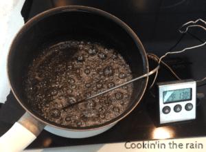 sirop à 130°C