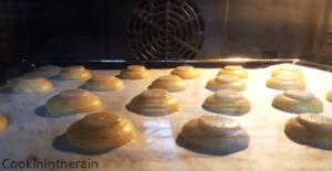 à 10 minutes de cuisson four éteint