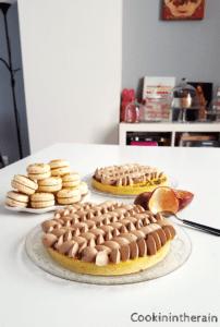 service de la tarte de Carl Marletti