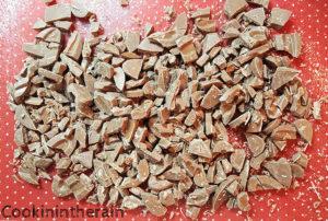 pépites de chocolat caramélia