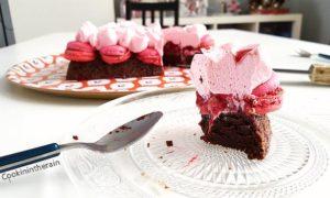 dégustation du valentine's cake