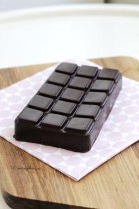 Tablette au chocolat dans le moule silicone Tefal