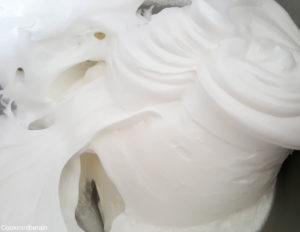 mélange à la maryse jusqu'à incorporation du sucre glace