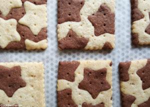 biscuits dorés cuits