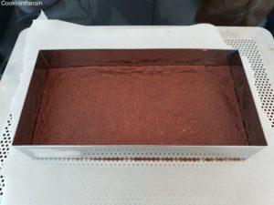 pâte sablée cacao de Bajard pré cuite