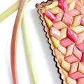 ma recette de tarte à la rhubarbe et framboise maison