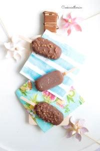 Magnums chocolat au lait et amandes