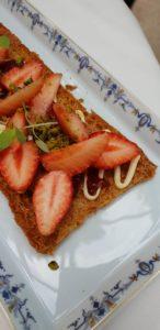 biscottine de fraises