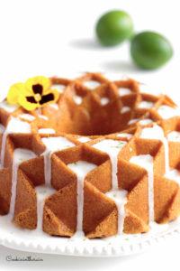 Délicieux cake au citron vert et rhum blanc