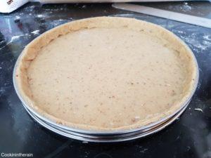 pâte sucrée foncée