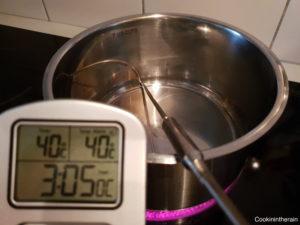 eau à 40°C