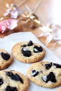 Mes cookies aux oréos