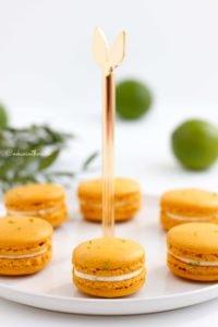 Macarons prêts à être dévorés