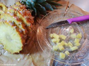 brunoise d'ananas