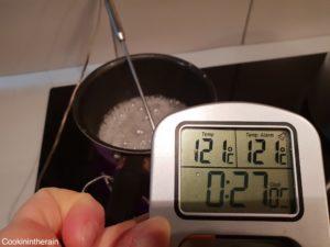sirop prêt à 121°C