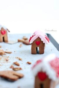 Les mini maisons sont un bon moyen d'occuper les enfants avant Noël !