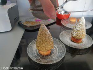saupoudrage au sucre glace
