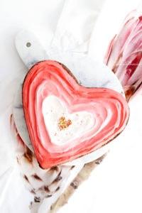 mon brownie de saint valentin 2019