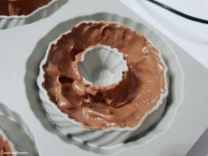 ajout de la mousse chocolat tonka