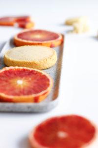 Les sablés friables à l'orange de M.Stewart