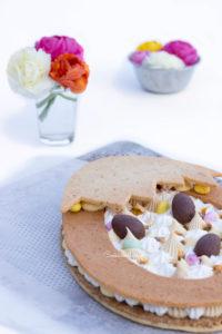 La tarte au Dulcey pour Pâques 2019