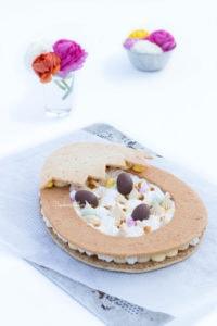 La tarte Dulcey, passion et vanille 2019