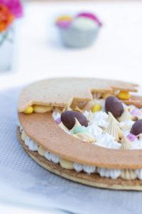 Ma tarte de Pâques façon number cake