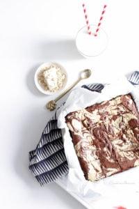 Le goûter régressif à souhait : brownie marbré