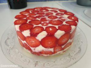 fraisier pris au froid